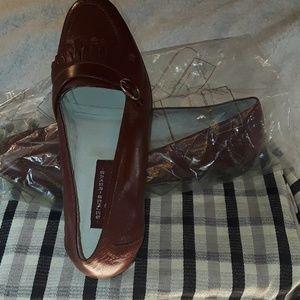 Baker-Benjes Brown Kelt Leather Loafers  Sz. 101/2